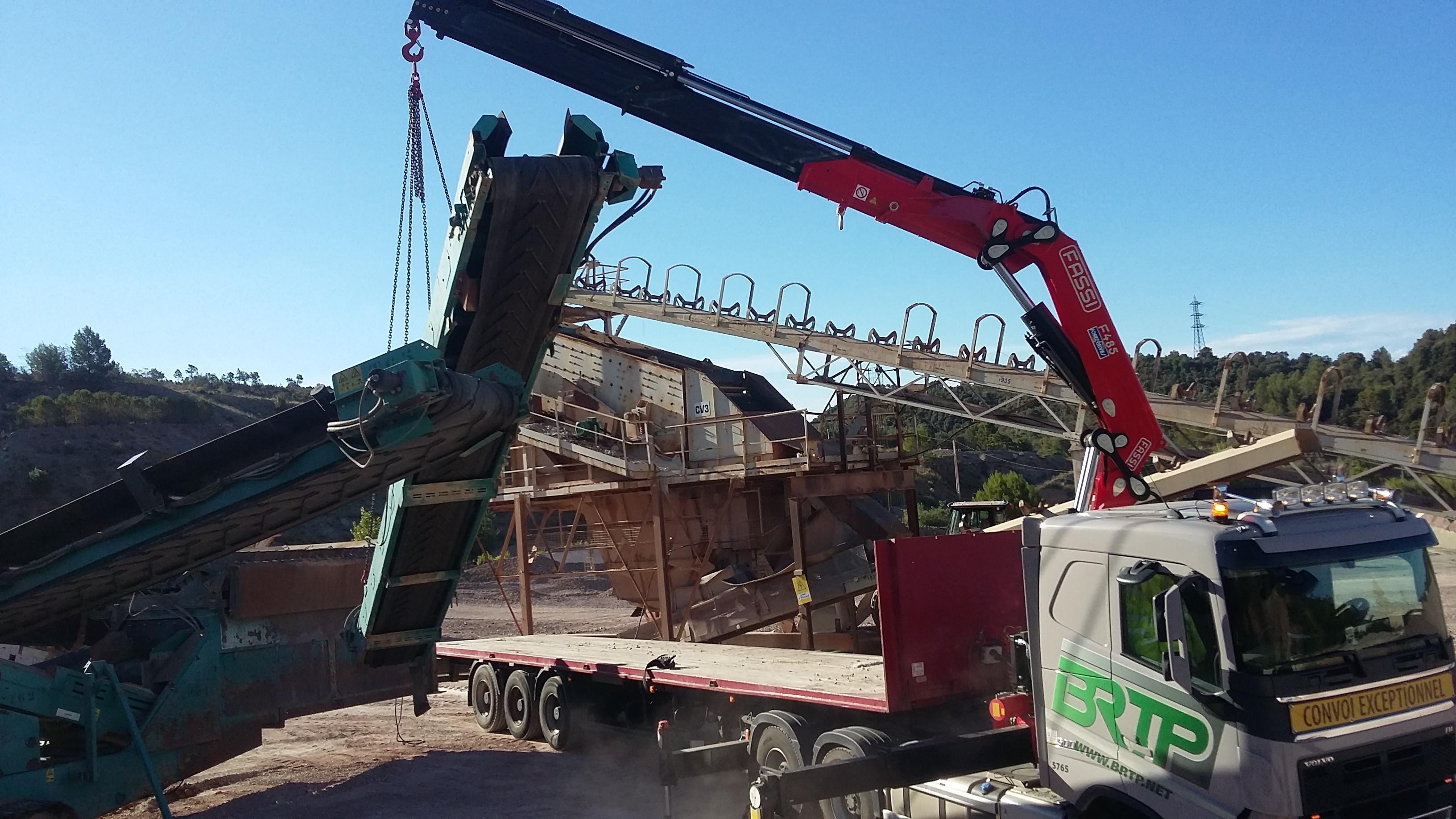 Brtp levage et manutention camion grue en rh ne alpes - Location camion grenoble ...